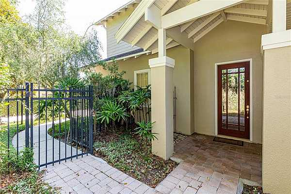 Photo #6 Front door with covered entrance