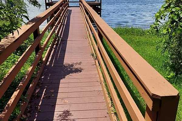 Photo #7 Fishing pier for residents