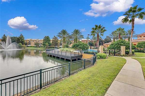 Photo #3 The GATED COMMUNITY of Serenata Condos offers residents great amenities!